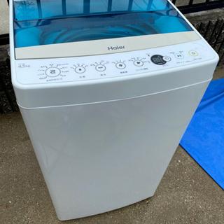 お薦め品‼️激安‼️分解洗浄済み‼️ハイアール洗濯機4.5kg ...