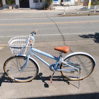 6段階変速ギア付き自転車✨24インチ ジュニア向けサイズ✨…