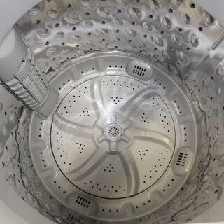 西岡店 洗濯機 6.0㎏ 2021年製 アイリスオーヤマ IAW-T602E ホワイト   - 家電