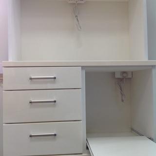ニトリ ホワイト 木製 ダイニングボード 【9650520】 - 家具