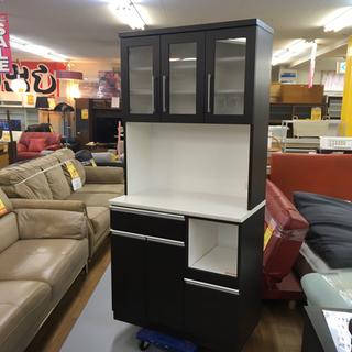 S232    NITORI キッチンボード、食器棚、幅90cm