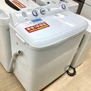 1年保証付!2019年製 Haier(ハイアール)の2槽式洗濯機...