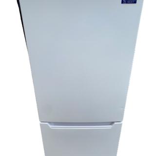 2019年製 YAMADASELECT(ヤマダセレクト) YRZC12G2 2ドア冷蔵庫 (117L・右開き) ホワイト (0921天)の画像