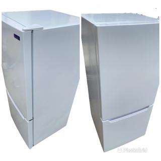 2019年製 YAMADASELECT(ヤマダセレクト) YRZC12G2 2ドア冷蔵庫 (117L・右開き) ホワイト (0921天) − 愛知県