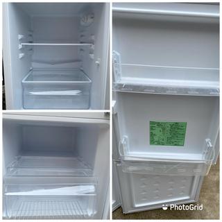2019年製 YAMADASELECT(ヤマダセレクト) YRZC12G2 2ドア冷蔵庫 (117L・右開き) ホワイト (0921天) - 家電