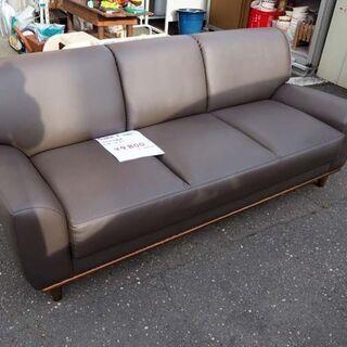 ◆マルキタ家具 レザーソファー 3人掛け◆ - 売ります・あげます