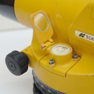 ジャンク トプコン 測量機 AT-F3 ケース付き AUTO LEVEL TOPCON オートレベル  札幌市 清田区 平岡 - その他