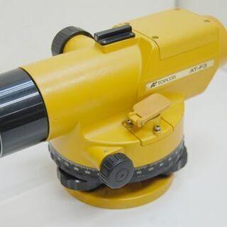 ジャンク トプコン 測量機 AT-F3 ケース付き AUTO LEVEL TOPCON オートレベル  札幌市 清田区 平岡 - 札幌市
