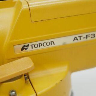 ジャンク トプコン 測量機 AT-F3 ケース付き AUTO LEVEL TOPCON オートレベル  札幌市 清田区 平岡 − 北海道