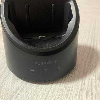 富士ソフト WiFi FS040W ホームルーターセット カバー付き - その他
