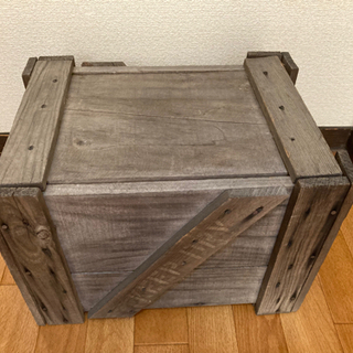 古い木箱 差し上げます DIYにいかがですか?? - 川越市