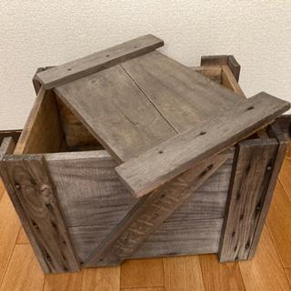 古い木箱 差し上げます DIYにいかがですか??の画像