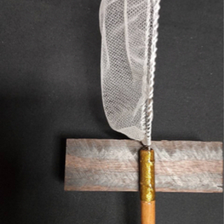 メダカ 高級選別網 タモ 光工房 網 銘木 新品未使用 - 売ります・あげます
