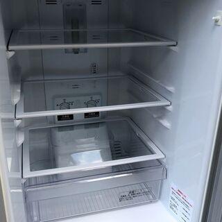 ⑱【6ヶ月保証付・税込み】三菱 146L 2ドア冷蔵庫 MR-P15E シルバー 19年製【PayPay使えます】 - 家電