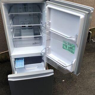 ⑱【6ヶ月保証付・税込み】三菱 146L 2ドア冷蔵庫 MR-P15E シルバー 19年製【PayPay使えます】 - 福岡市