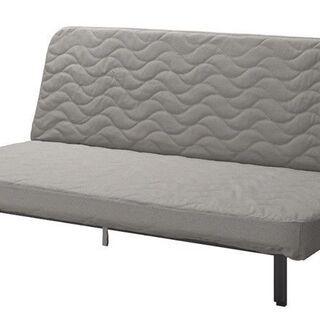 【IKEA】ソファベッド/3人掛ソファ/ダブルベッド※値下…