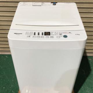 【美品】Hisense 2021年製 4.5kg 12,000円!!の画像