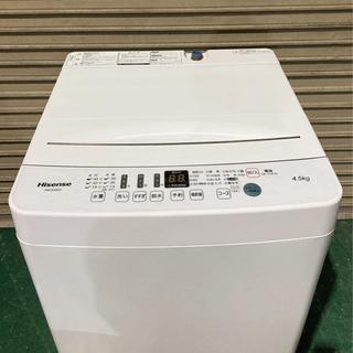 【美品】Hisense 2021年製 4.5kg 12,000円!! - 春日井市