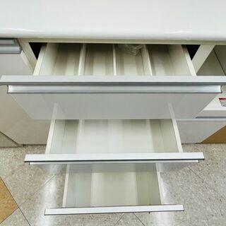 💙NITORI(ニトリ) 2面レンジボード 🔷定価¥71,195 🔷フルスライドレール💙 - 家具