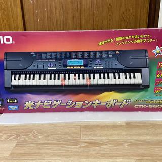 CASIO カシオ 電子キーボード ピアノ ctk-660l - 釧路市