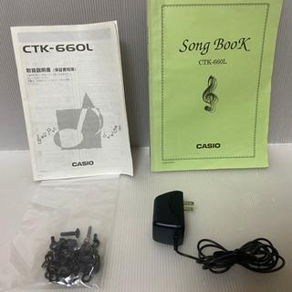 CASIO カシオ 電子キーボード ピアノ ctk-660l - 楽器