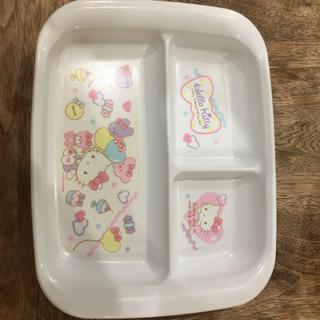 【もらってください】子供用、樹脂のの食事用プレート