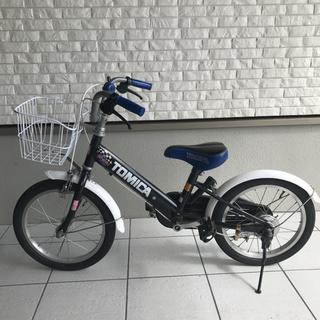美品 トミカ 子ども自転車 16インチ 5点セット