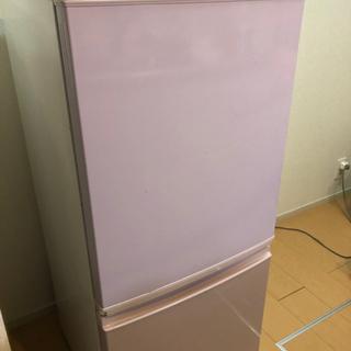 【取引中】冷蔵庫 (SHARP  SJ-14X)  10月1日まで