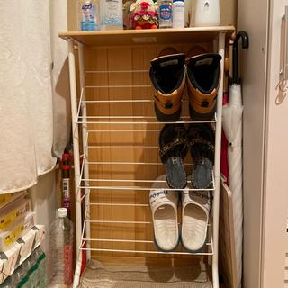 靴置き 靴収納 3段 シューズラック