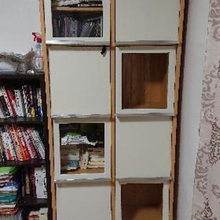 棚、本棚、DVD収納