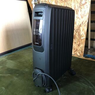 ☆オイルヒーター 8枚フィン モダンデコ ブラック ZZ001-...