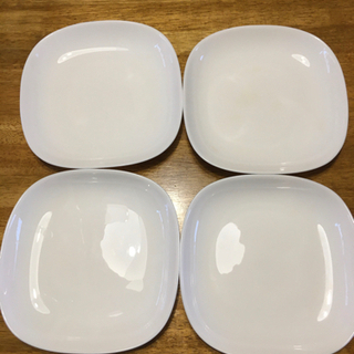 白いお皿 4枚セット
