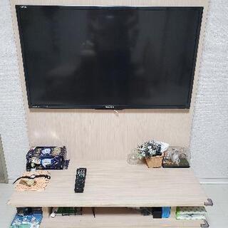 SHARP AQUOS 亀山ブランド、テレビ、テレビ台セット