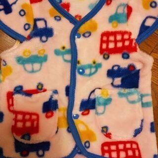 ベビー 80 スリーパー 冬 パジャマ