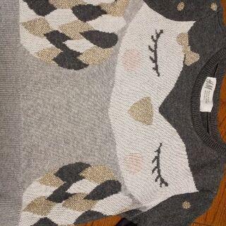 90サイズ 秋冬春 セーター 綺麗です