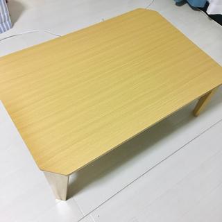 ニトリ 折りたたみローテーブル 座卓の画像