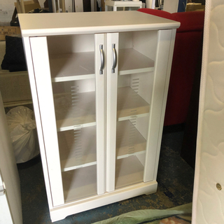 食器棚 白戸棚