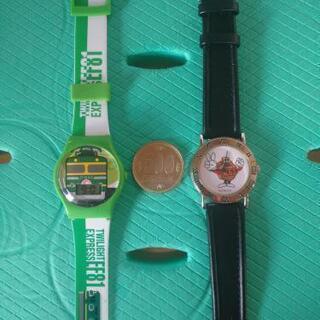子供サイズ腕時計2点