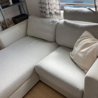 IKEA 2人掛けカウチソファ