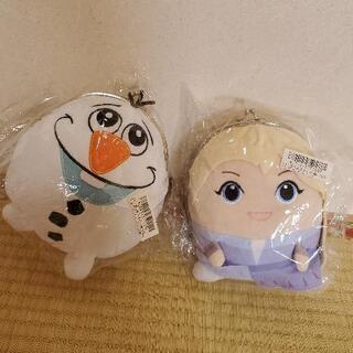 アナと雪の女王 がまぐちポーチ 二個セット