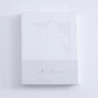 未開封 大塚家具 掛布団カバー「Nローザ」エジプト超長綿 ダブル...