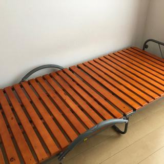 折りたたみベッド シングルベッド