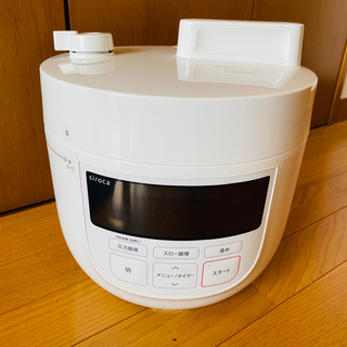 電気圧力鍋 siroca SP-4D151 ホワイト 4L
