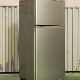 0909 SANYO 三洋 2ドア冷蔵庫 SR-111M …