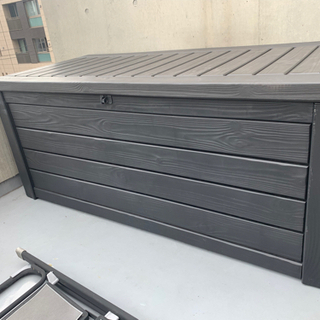 屋外ベンチ収納ボックス570リットル