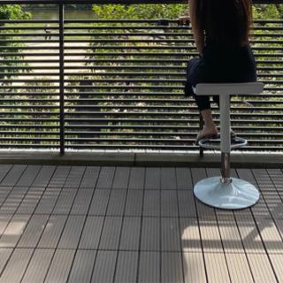 【引取先決定】☆ウッドパネル54枚ブラウン