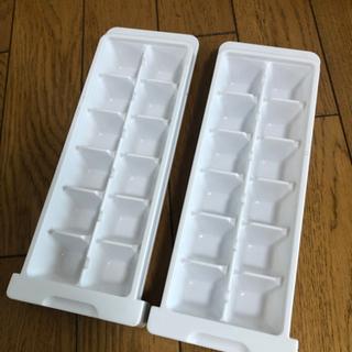 製氷皿 2つ