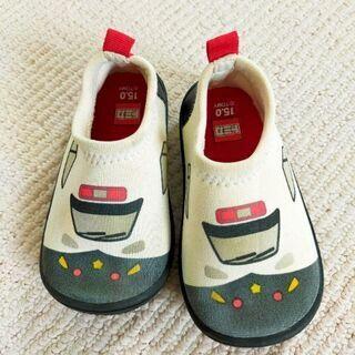 トミカ パトカー 靴 15cm