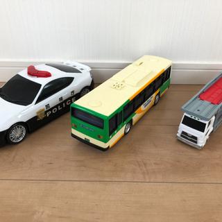【ネット決済】トミカ おかたづけパトカー、キャリアカー、都営バス...