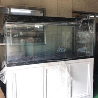 オーバーフロー用水槽 高透過ガラス 新品未使用